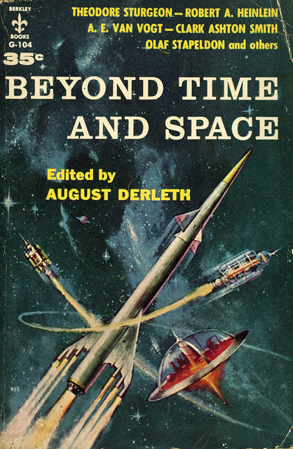 Berkley Books G-104 - August Derleth - Beyond Time and Space