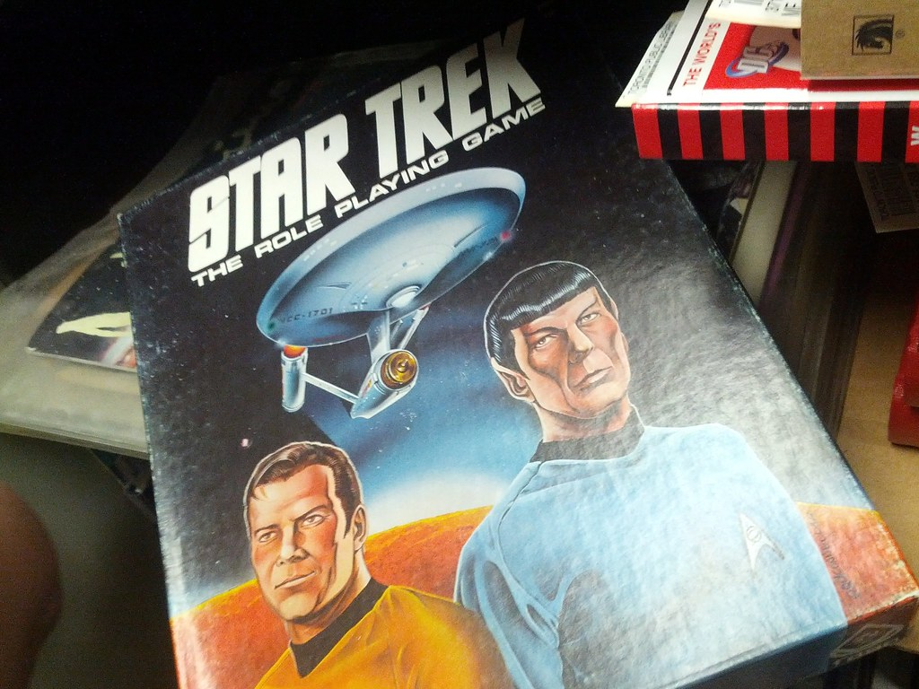 FASA Star Trek RPG, Merrill Collection Stacks, Toronto, Ontario, Canada