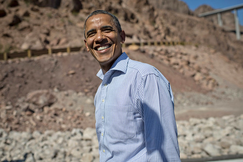Barack Obama in Boulder City, NV - October 2nd