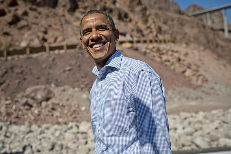Barack Obama in Boulder City, NV - October 2nd