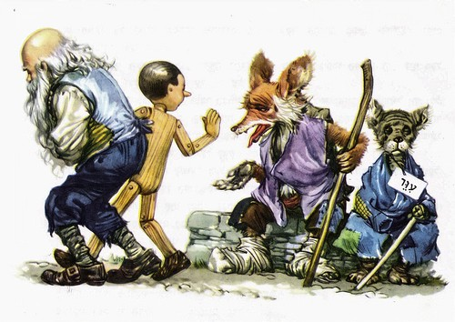 Pinnochio - illustrated by Libico Maraja (85)