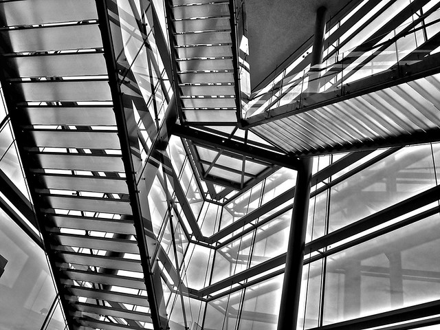 Stairway; Museum of Contemporary Art, Madison, Wisconsin