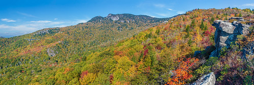 autumn color fall wind northcarolina grandfathermountain roughridge yonahlossee