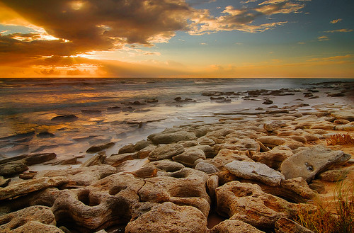 sunrise rocks waves florida palmcoast marinelandbeach flaglercounty floridarockybeach