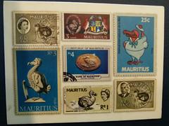 vr, 31/08/2012 - 14:31 - 072. Dodopostzegels in het Dodomuseum, Port Louis, Mauritius