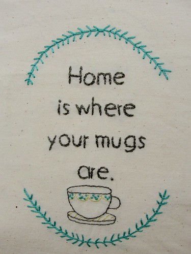 Home is where your mugs are