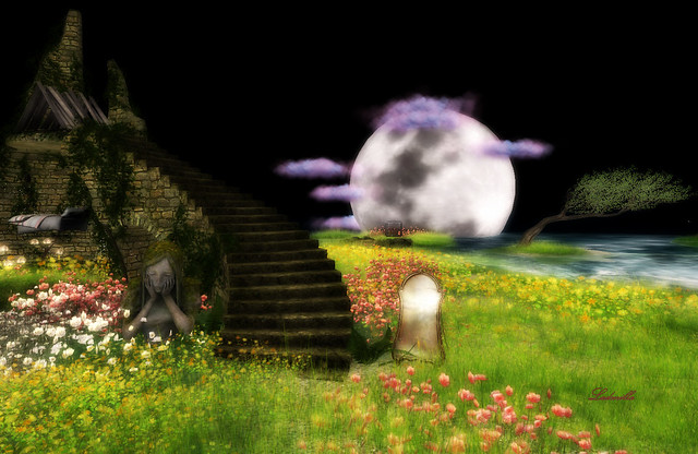 Only dreamers can hear the Moon whisper