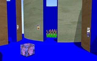 ALICE blue screen studio