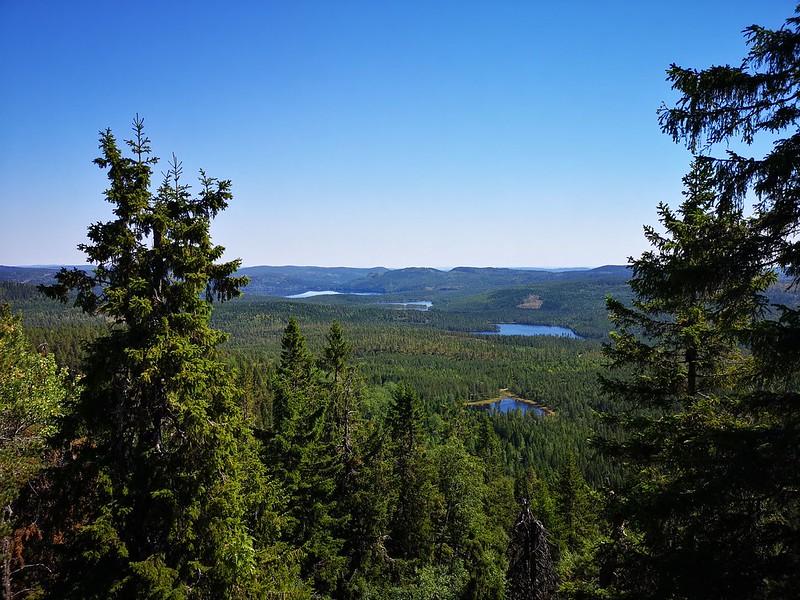 10-Utsikt mot Glitre fra Snaukollen