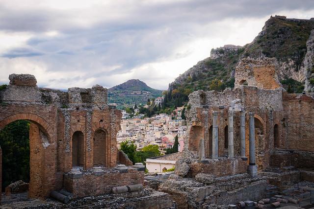Taormina, Roman Theater