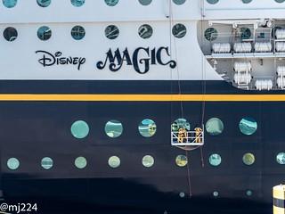Disney Magic Cruise Ship   by dudutrois