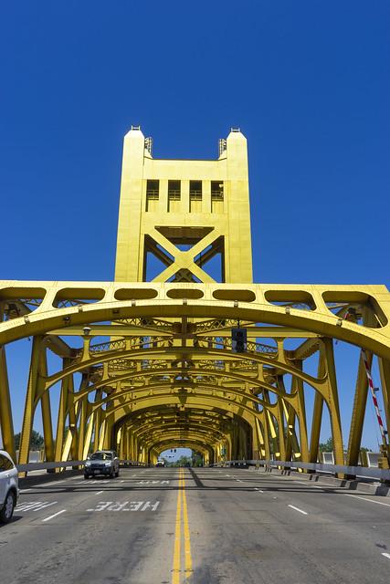 Sacramento, Tower Bridge 1935 Explore #77