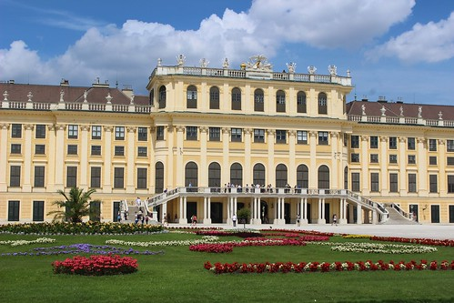 Schonbrunn from backside | by sandrakaybee
