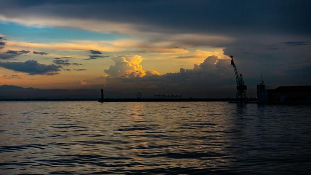Thessaloniki Port, Macedonia Greece
