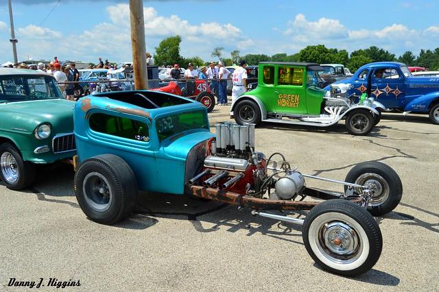 9th Annual Vintage Meltdown  Drag Racing Meet & Car Show.  Byron, Illinois.     2018.      DSC_3534