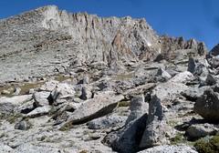 Mt Conness -  Ascending ridgeline