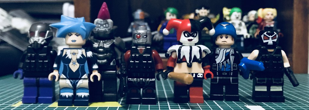 Suicide Squad Batman Assault On Arkham From Left To Right Flickr