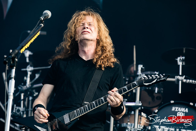 Dave Mustaine - MEGADETH @HELLFEST Open Air 2018