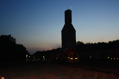 Baldwin Coaling Tower at Twilight | by tcamp7837