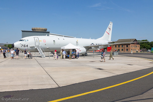 Boeing P-8A Poseidon   168764   VP-10, United States Navy   by Kyle Greet