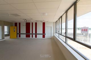Chantier du nouveau Collège Jean Charcot - Oissel (18/07/2018)
