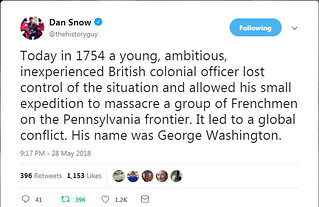 Dan Snow Tweet - George Washington | by T3G