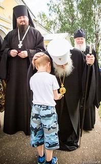 Божественная Литургия в д.Леохново 680