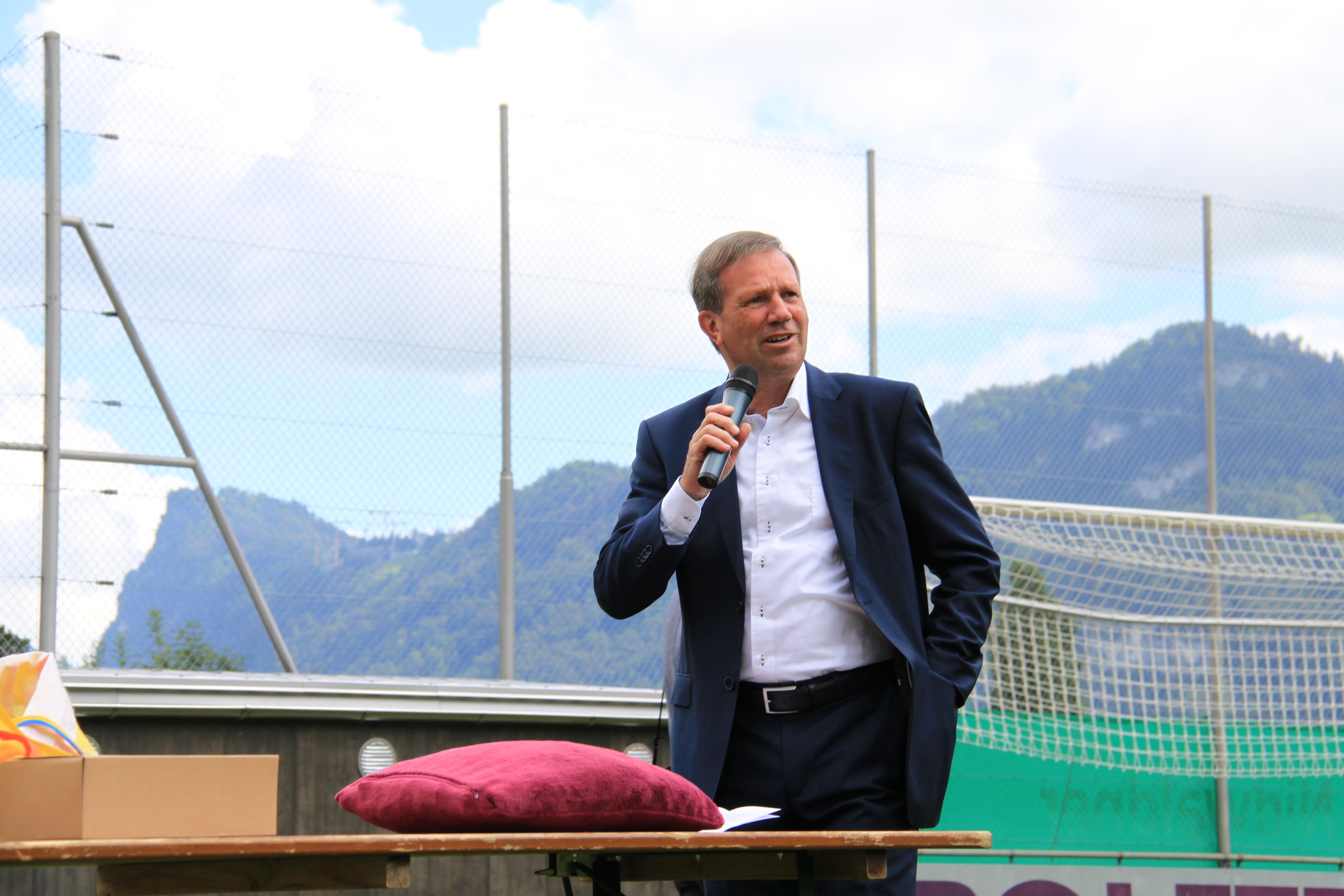 1. Sportfest 21.08.2016 - Interviews und Reden