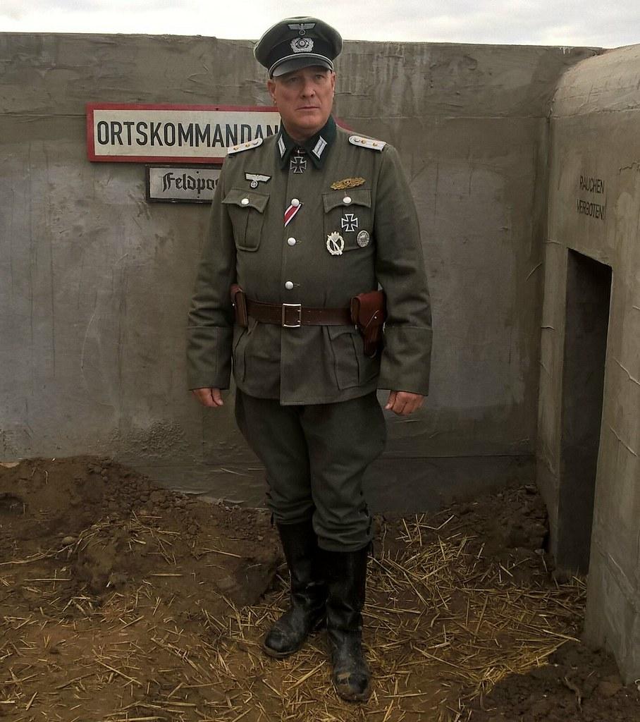 German WW2 Officer, Hauptmann, | www starnow co uk/christoph… | Flickr