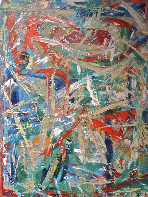 #Two Of A Pair, Painting by Scott Stewart-Johnson, 1995
