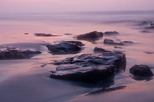ocean vacation beach sunrise rocks nj stoneharbor jerseyshore