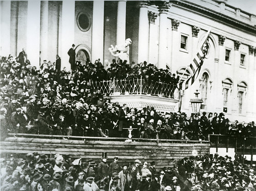 1865 Abraham Lincoln's Second Inauguration | by USCapitol