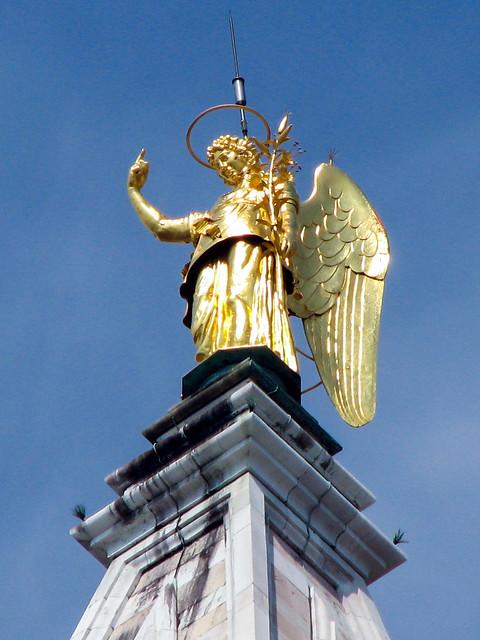 Arcangelo Gabriele. Campanile di San Marco