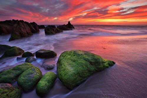 sunset beach rock canon moss pch sycamore 5d shawn 1635 ef1635mmf28lii sycamorecanyonbeach eos5dmarkii