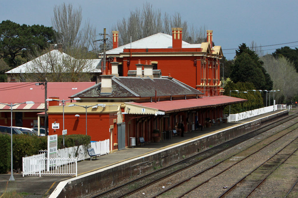Moss Vale Railway Station by Corey Gibson