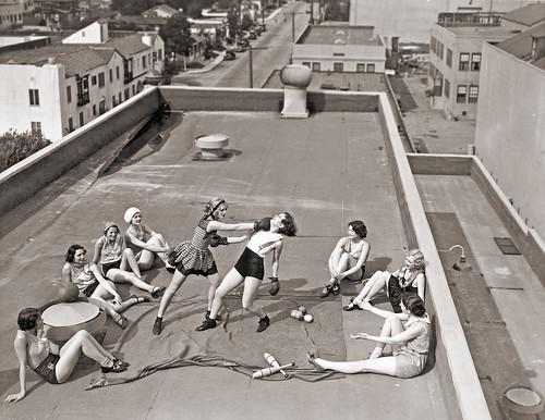 Radio Pictures Chorus Girls