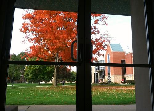 autumn fall colors leaves campus october fallcolors westminstercollege newwilmingtonpa bradweaver