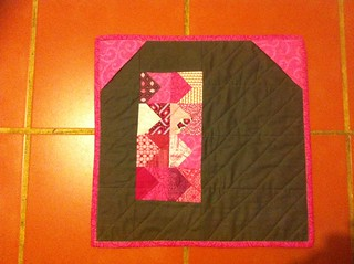 Doll Quilt for Miss H (back)