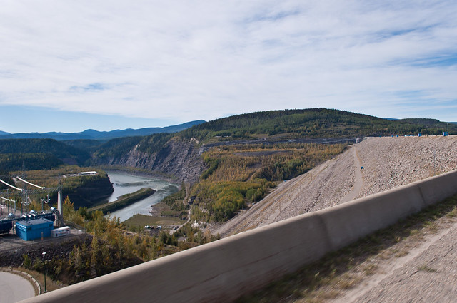 On the WAC Bennett Dam 04