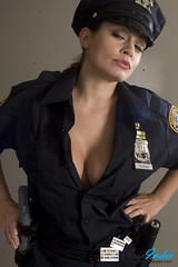 Busty cop Aria Giovanni