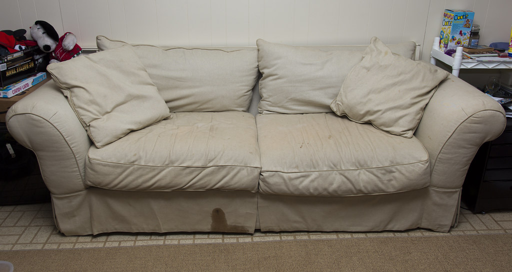 Stained Couch