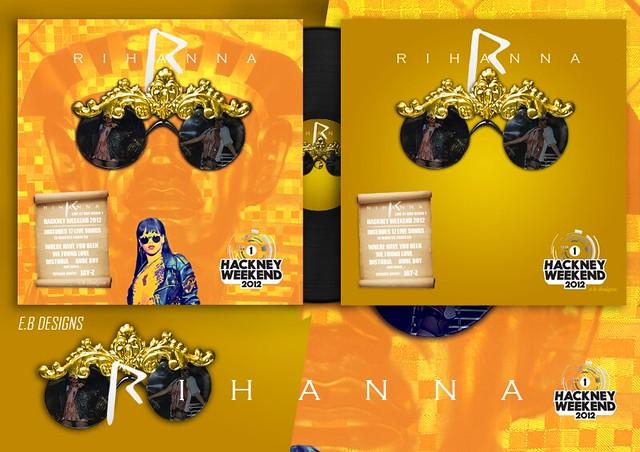 Rihanna - Live at BBC Radio 1 Hackney Weekend 2012