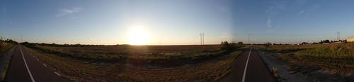 sunset panorama cycling olympus fisheye biking tough converter tg1 fcont01