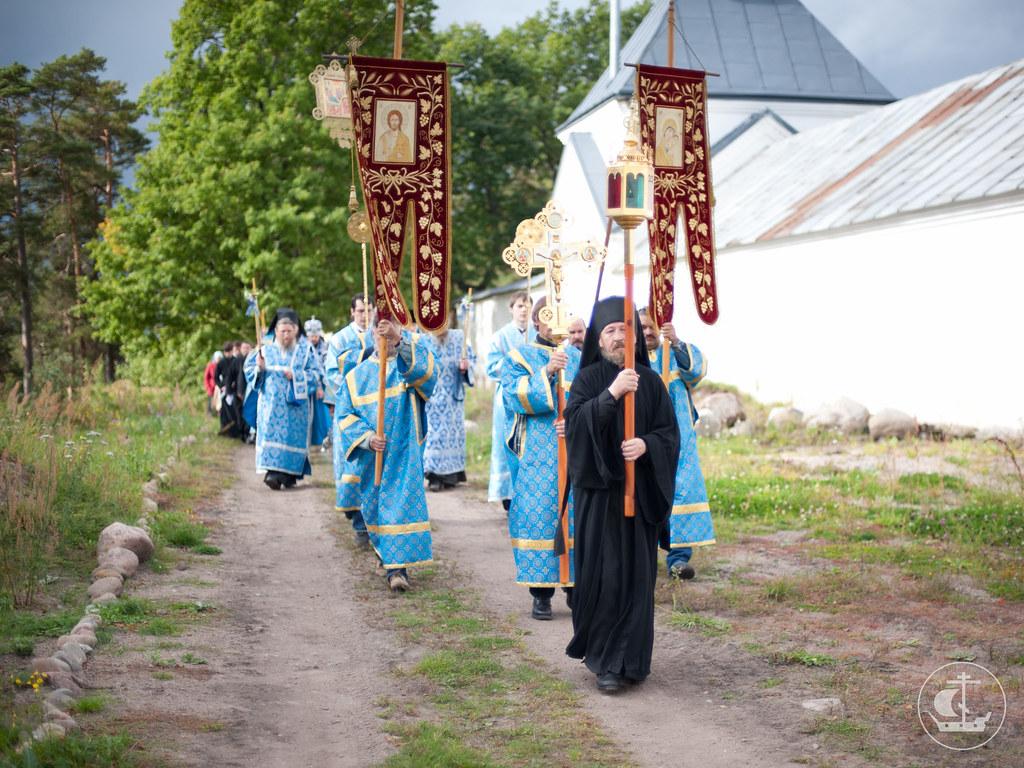 20-21 сентября 2012, Престольный праздник Коневского монастыря Рождества Богородицы