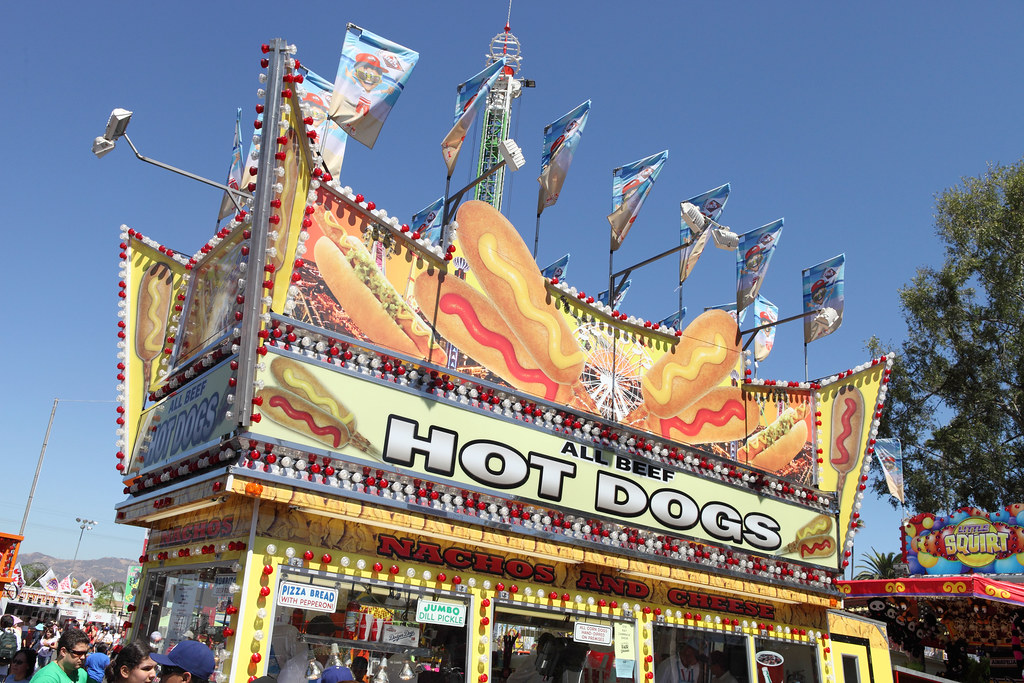 Hot Dog Stand | Another hot dog stand at the L.A. County Fai… | Flickr