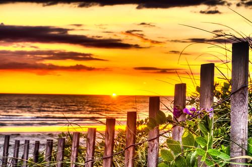 red beach sunrise massachusetts newengland atlantic