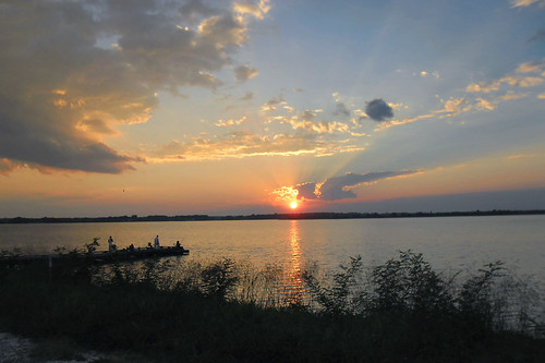 sunset river virginia fishing fishermen va rappahannock