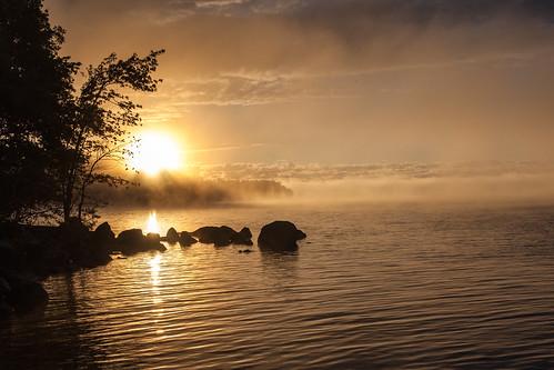 sunrise portland maine northeast lakesebago