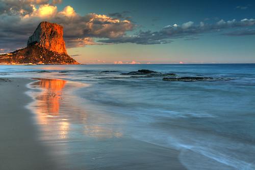 alacant alicante calp calpe espagne espana espanha mediterranean spain spania valence valencia sunset
