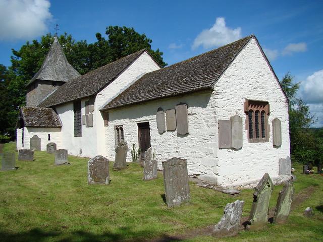 Llanfilo church, Bronllys and Llanfilo.